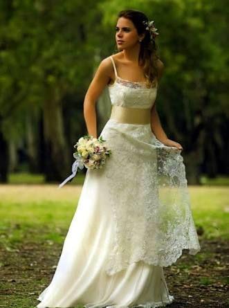 resultado de imagen para vestido de novia campestre | vestido en