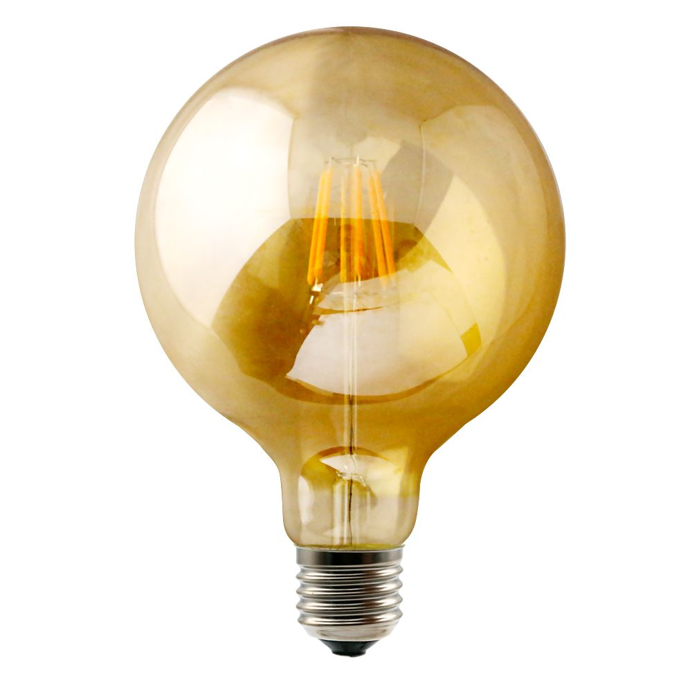 G30 G95 Led Filament Bulb With Golden Glass Cover Vintage Led Bulbs Filament Bulb Led Bulb