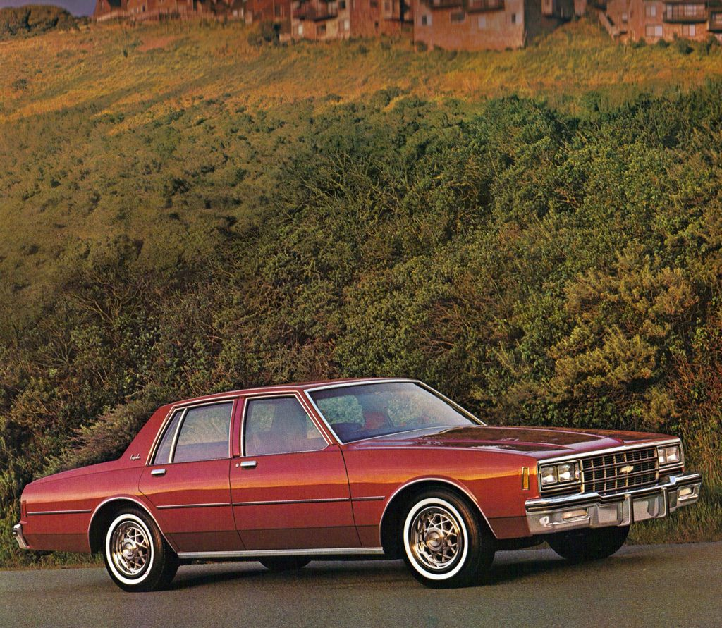 1981 Chevrolet Impala 4 Door Sedan Chevrolet Impala Chevrolet