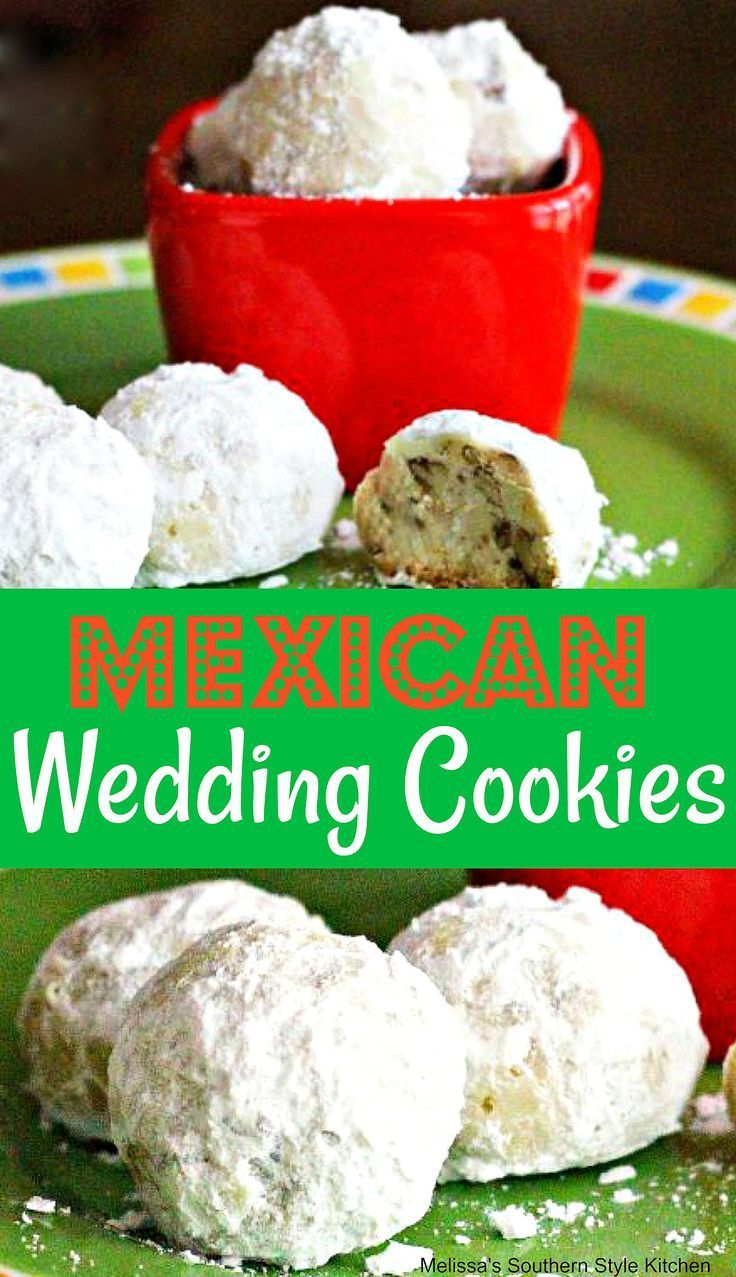 Mexican Wedding Cookies cookies Mexicanweddingcookies