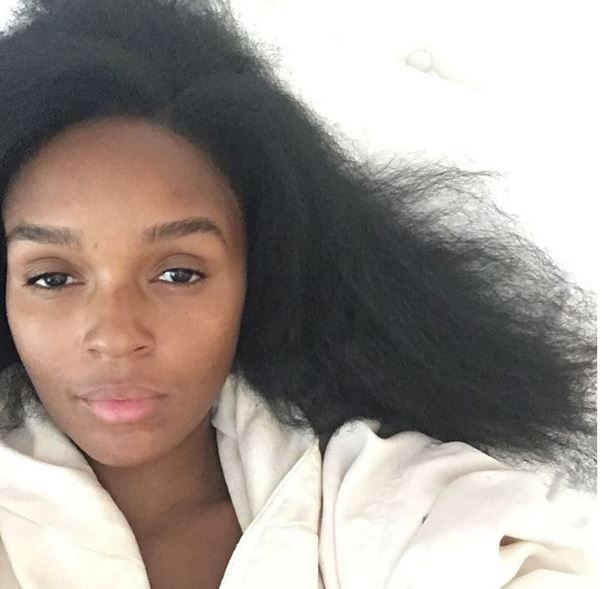 Janelle Monae Posted A Makeup And Weave Free Selfie That Had Her Followers Swooning Natural Hair Styles Kids Hairstyles Long Hair Girl