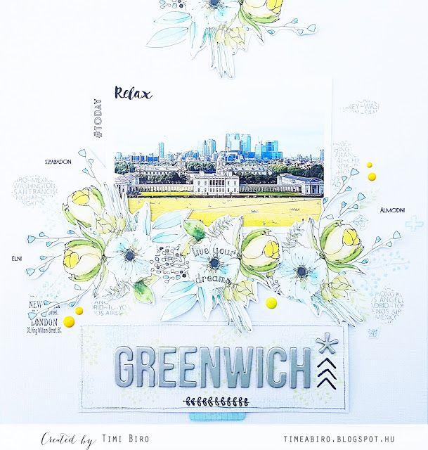 Scrapbook by Timi Biro: Greenwich park