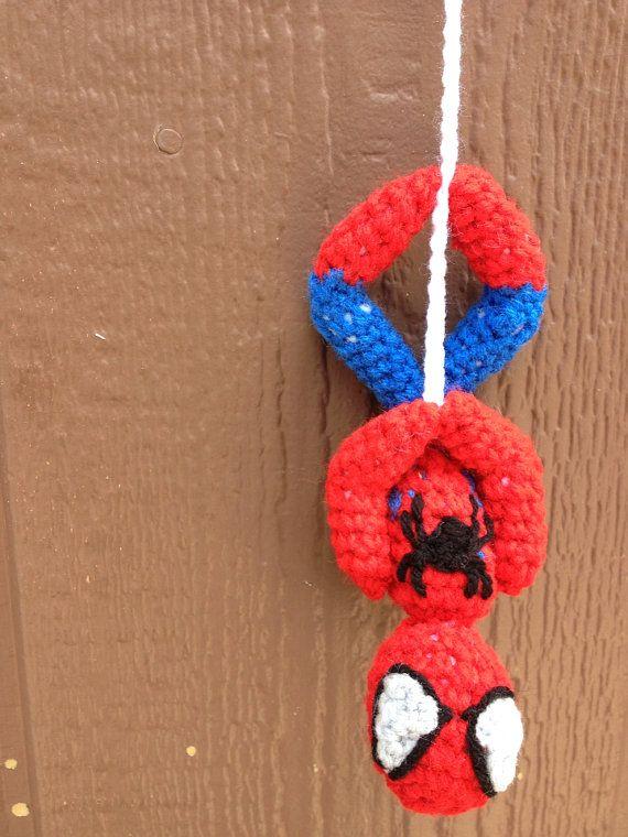 Crochet Pattern- Spiderman Upside Down Amigurumi Pattern   Pinterest ...
