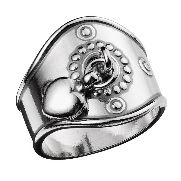 Kalevala Jewelry - Heart Ring - silver  dc7b80c7eb