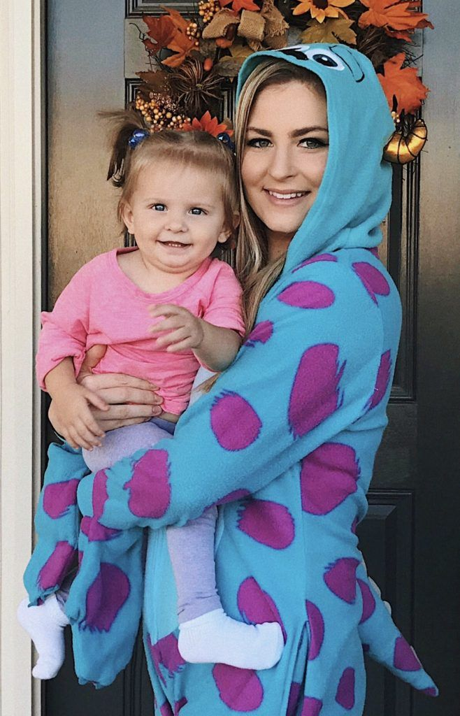 Sully and Boo Costumes Mother Daughter Halloween Costumes - mother daughter halloween costume ideas