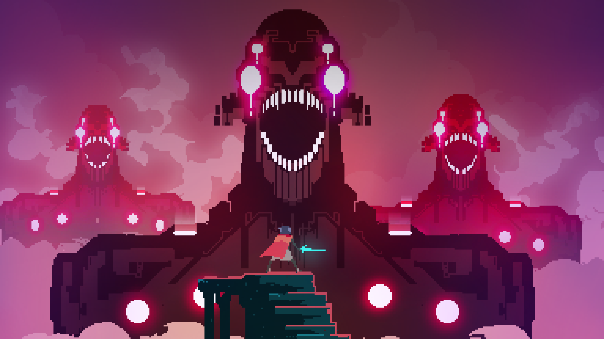 Hyper Light Drifter 1920x1080 Followme Cooliphone6case On Twitter Facebook Google Instagram Linkedin Blogger Tumblr Pixel Art Art Best Indie Games
