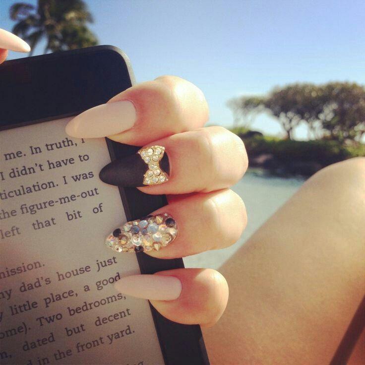 Pinterest @Trvpin ♡ | N A I L S | Pinterest | Almond nails, Nail ...