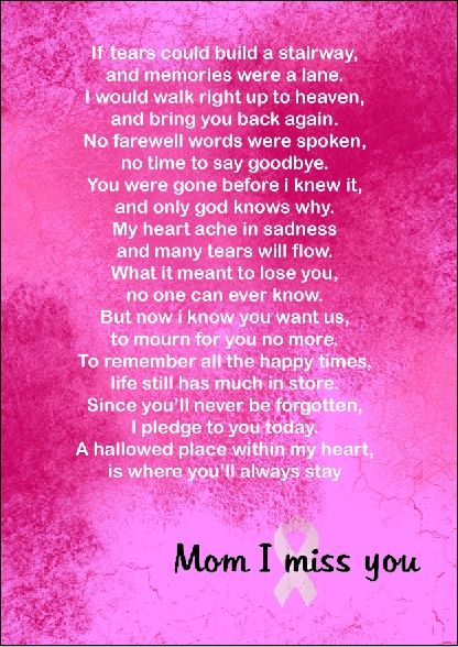 I Miss You Mom Poems | Isabella | Pinterest | Mom poems, Quotation ...