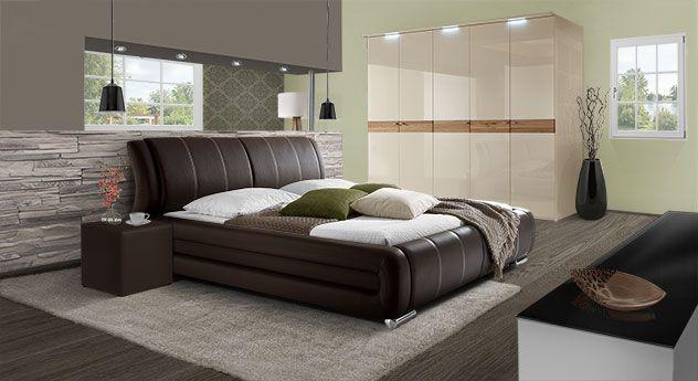 Luxuriöses Schlafzimmer mit tollem Mobiliar. | Betten.de ...