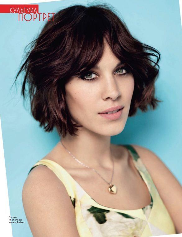 Owner At Ciesparks Salon In Malibu Part 7 Short Hair Styles Alexa Chung Hair Short Wavy Hair