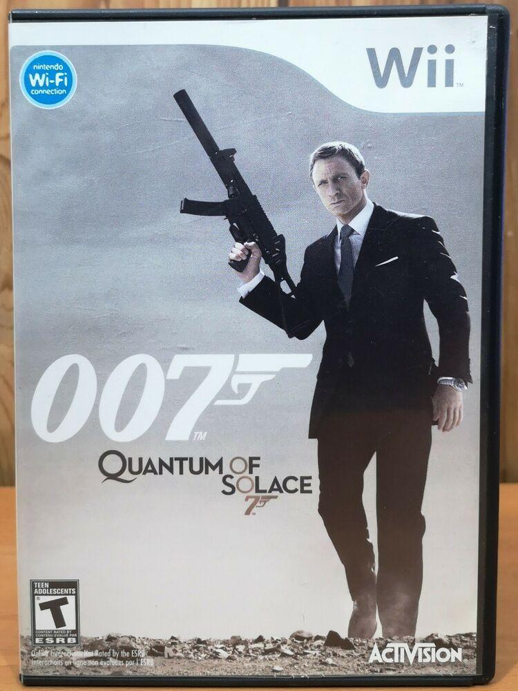 007 Quantum Of Solace Nintendo Wii 2008 Activision T In 2020