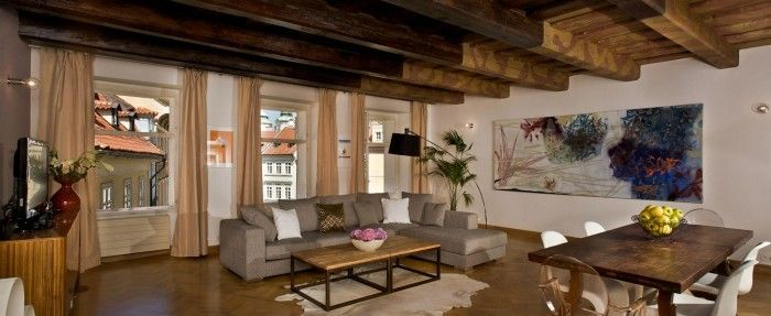 Accommodation In Prague For Up To 6 Persons 2 Bedrooms 116sqm Spacious Luxury Our Luxurious Air Conditioned Apartment Prague Apartment Short Term Rental