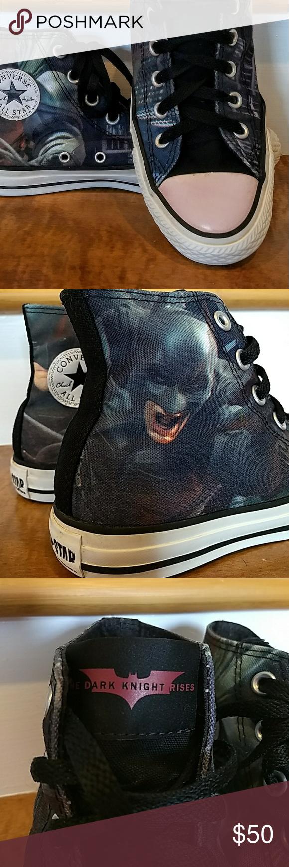 Batman Dark Knight Rises Size M4 W6 The Dark Knight Rises x Converse Chuck  Taylor 557eab2a5