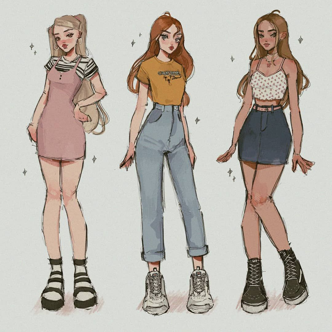 29 2 K Mentions J Aime 152 Commentaires P I Z Z A B A C O N Pizzabacon Sur Instagram Choose Your Winx B In 2020 Art Clothes Clothing Sketches Cute Art Styles