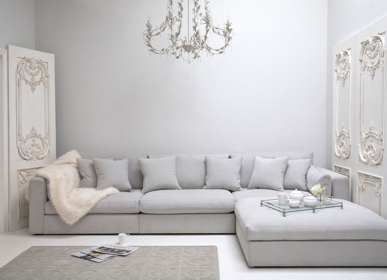 Best 25+ Grey corner sofa ideas only on Pinterest | White corner ...