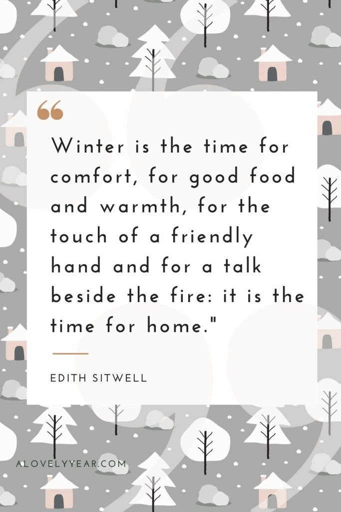 15 Favourite Winter Quotes