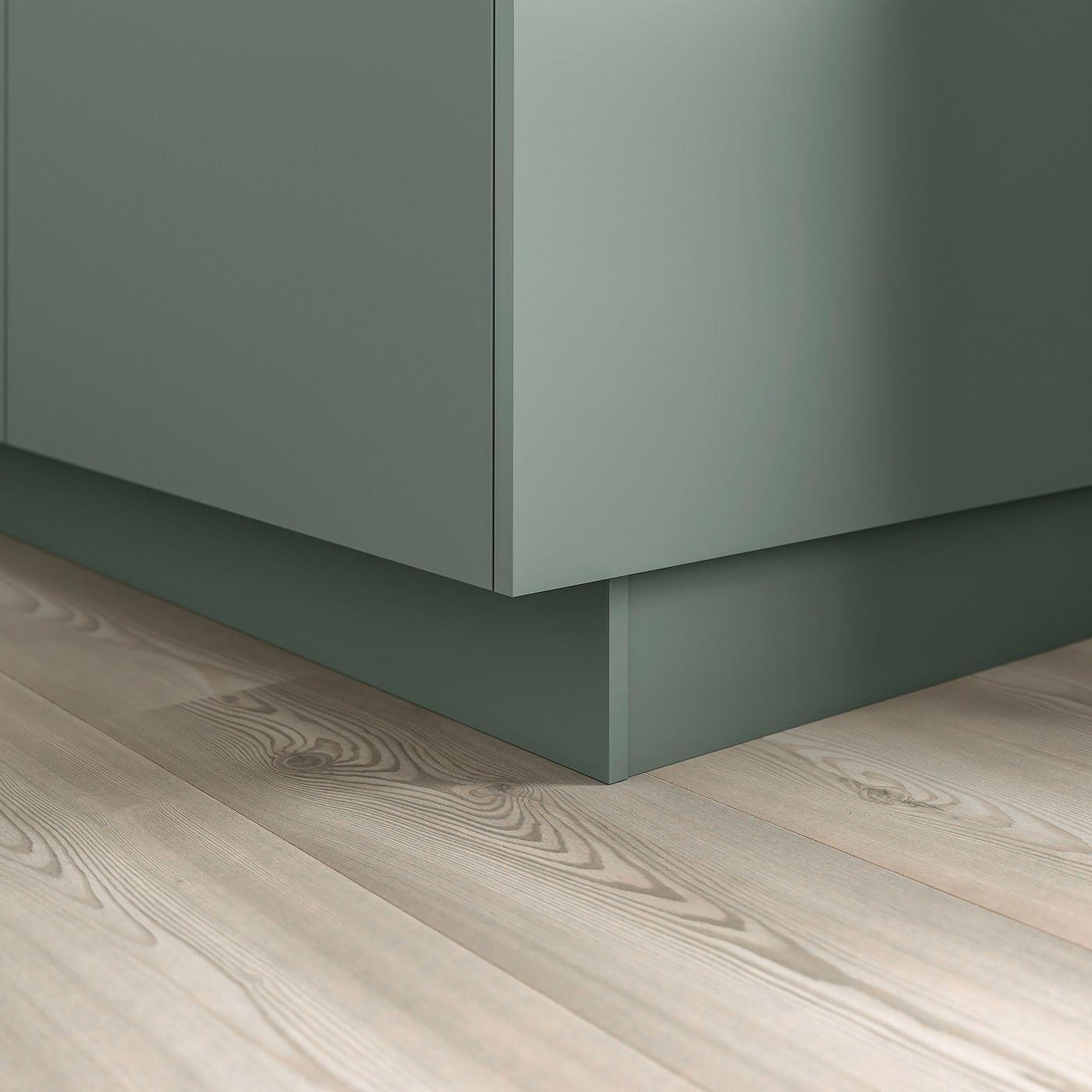 IKEA BODARP Gray-Green Toekick in 2020 | Green, grey, Ikea ...