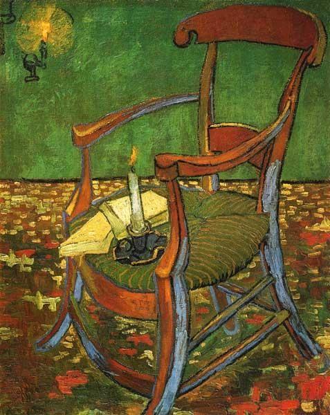 Vincent van Gogh - Gauguins chair
