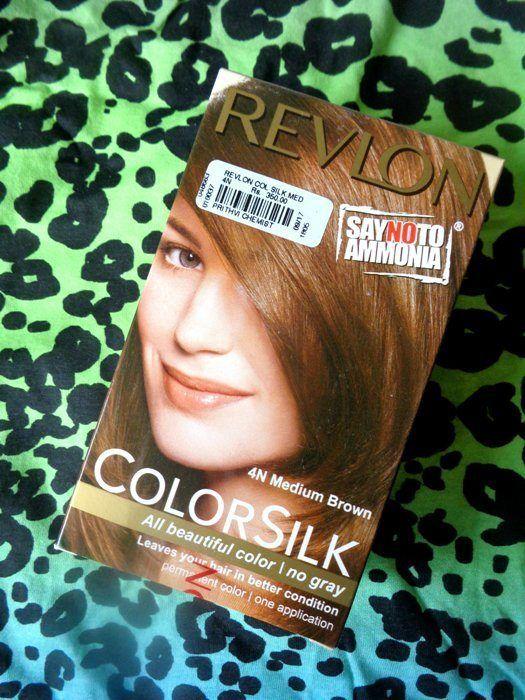 Revlon Colorsilk 4n Medium Brown Ammonia Free Permanent Haircolor