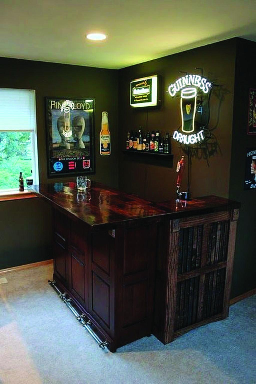 Do It Yourself Mini Nights Clubs To Jumble Your Residence Style Basement Bar Designs Diy Home Bar Home Bar Decor