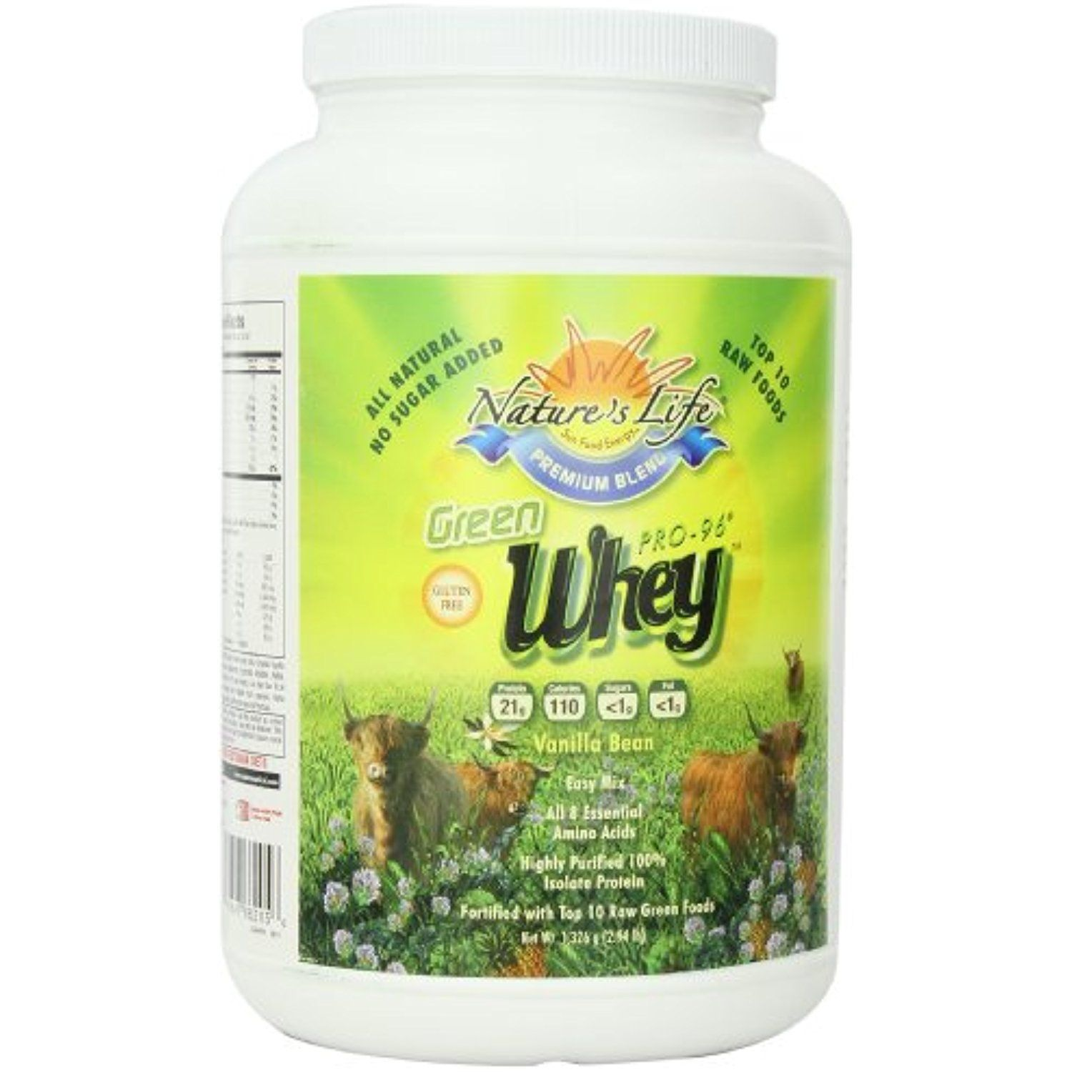 Nature S Life Green Whey Vanilla Bean Powder 2 94 Pounds To View Further For This Item Visit The Image Link This Vanilla Bean Beans Sports Nutrition