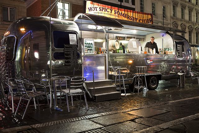 Outdoor Dining Starting A Food Truck Food Trailer