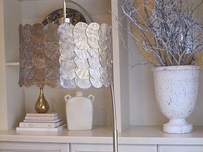 Simple Details Diy Fish Scale Lamp Shade Lamp Shade Diy Drum Shade Diy Lamp Shade