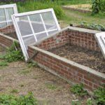 Using Old Windows For Cold Frames – How To Make Cold Frames Out Of Windows #erhöhtegartenbeete