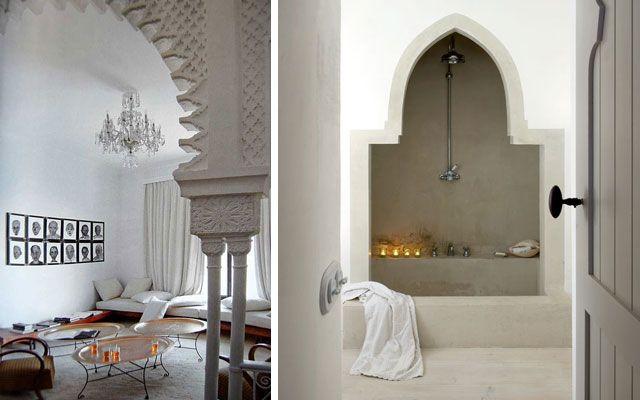 Estilo marroqu o estilo rabe cuartos de ba o estilo for Decoracion banos estilo arabe