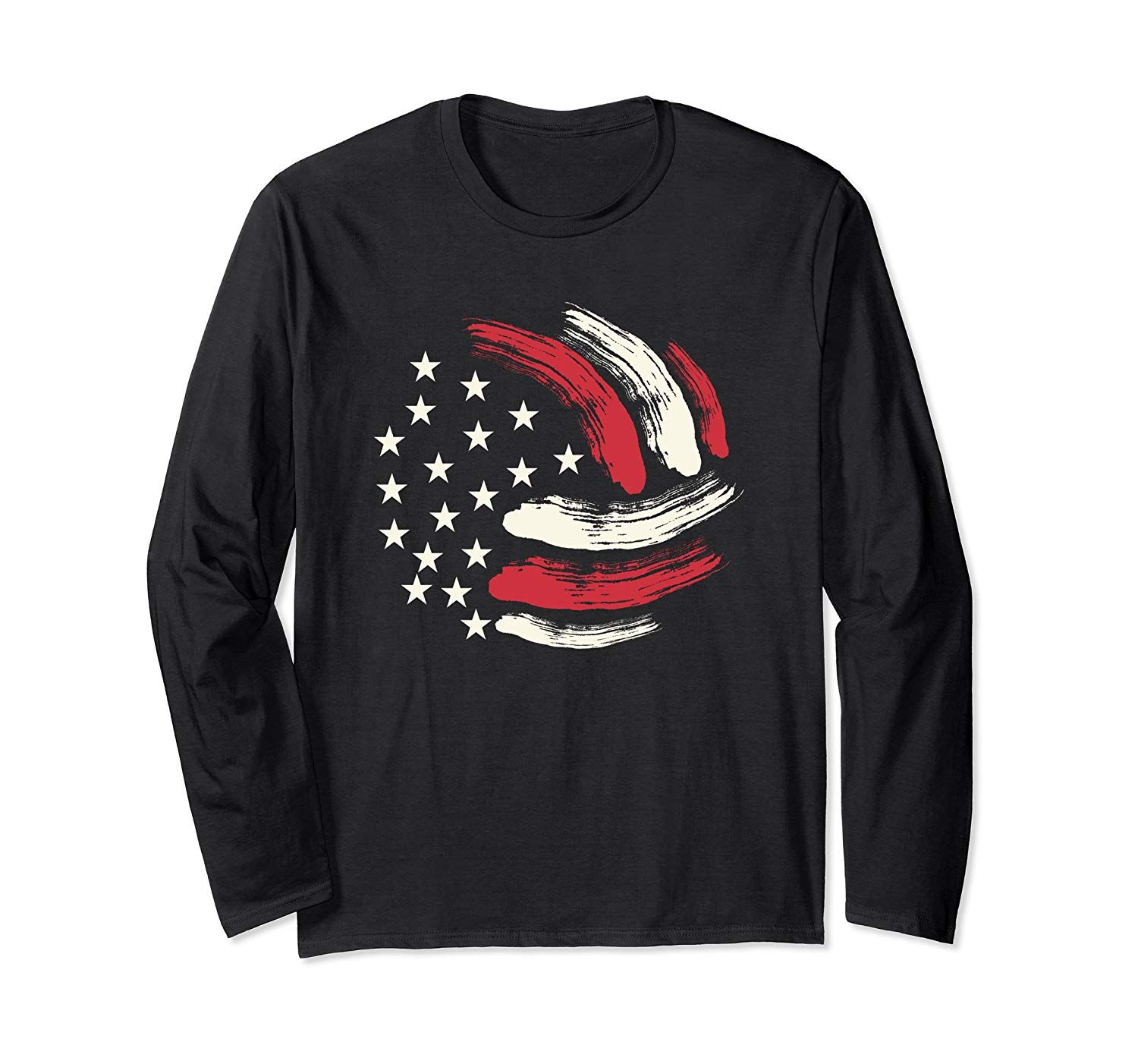 Patriotic Volleyball Gift Volleyball Team American Flag Long Sleeve T Shirt In 2020 Volleyball Gifts Volleyball Designs Volleyball Team