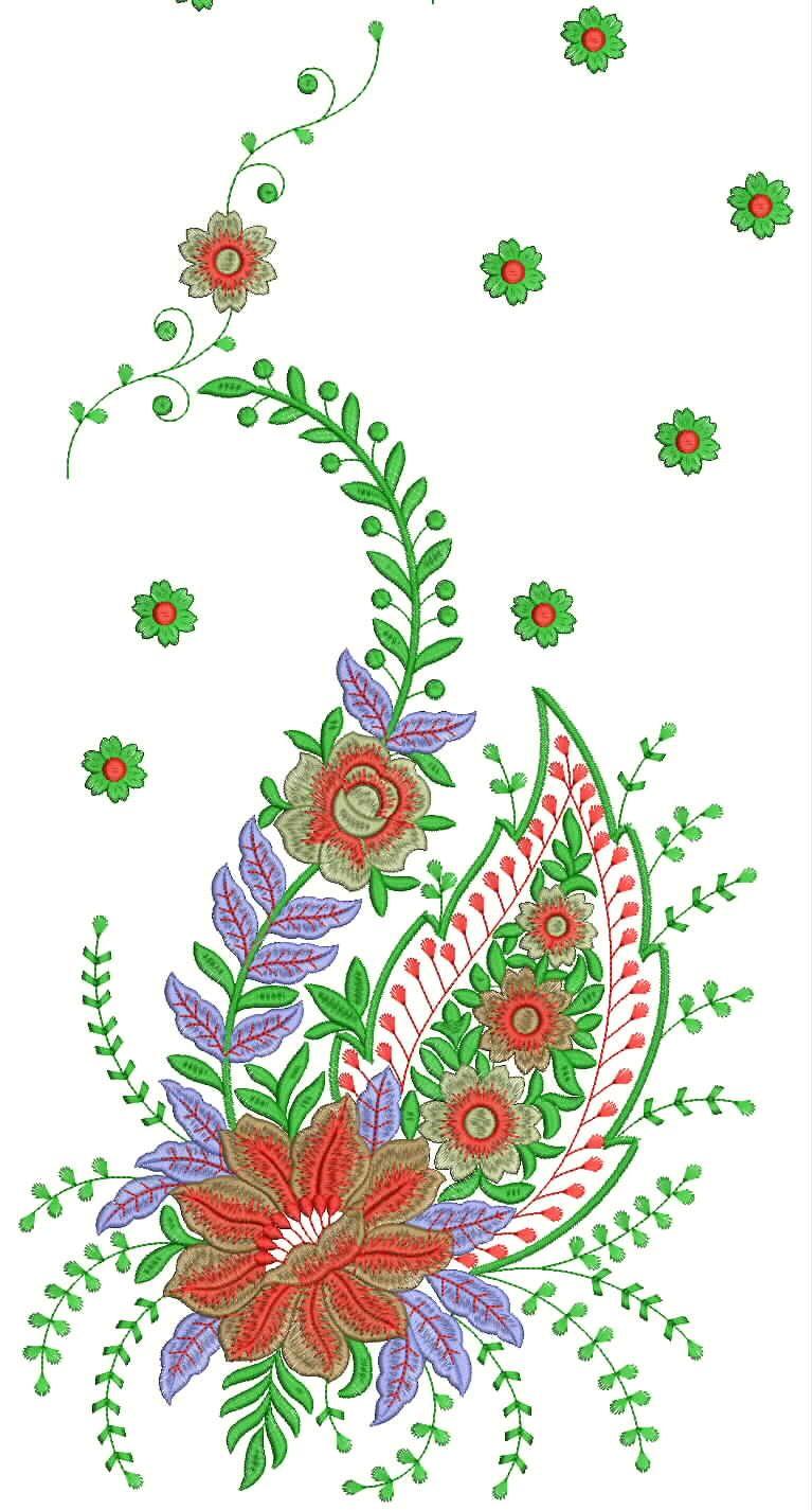 Embroidery designs saree embroidery designs fashion