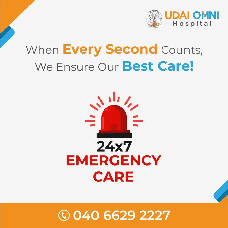 We have a 24/7 emergency department for traumatic events