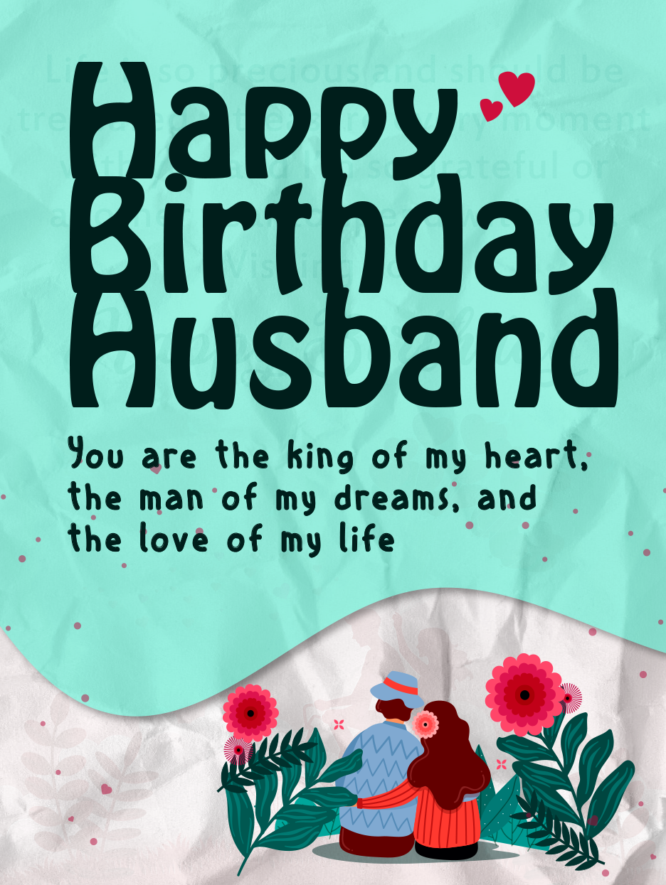 Sweet Lovely Pair Happy Birthday Husband Cards Birthday Greeting Cards By Davia Happy Birthday Wishes Cards Husband Birthday Card Happy Birthday Husband
