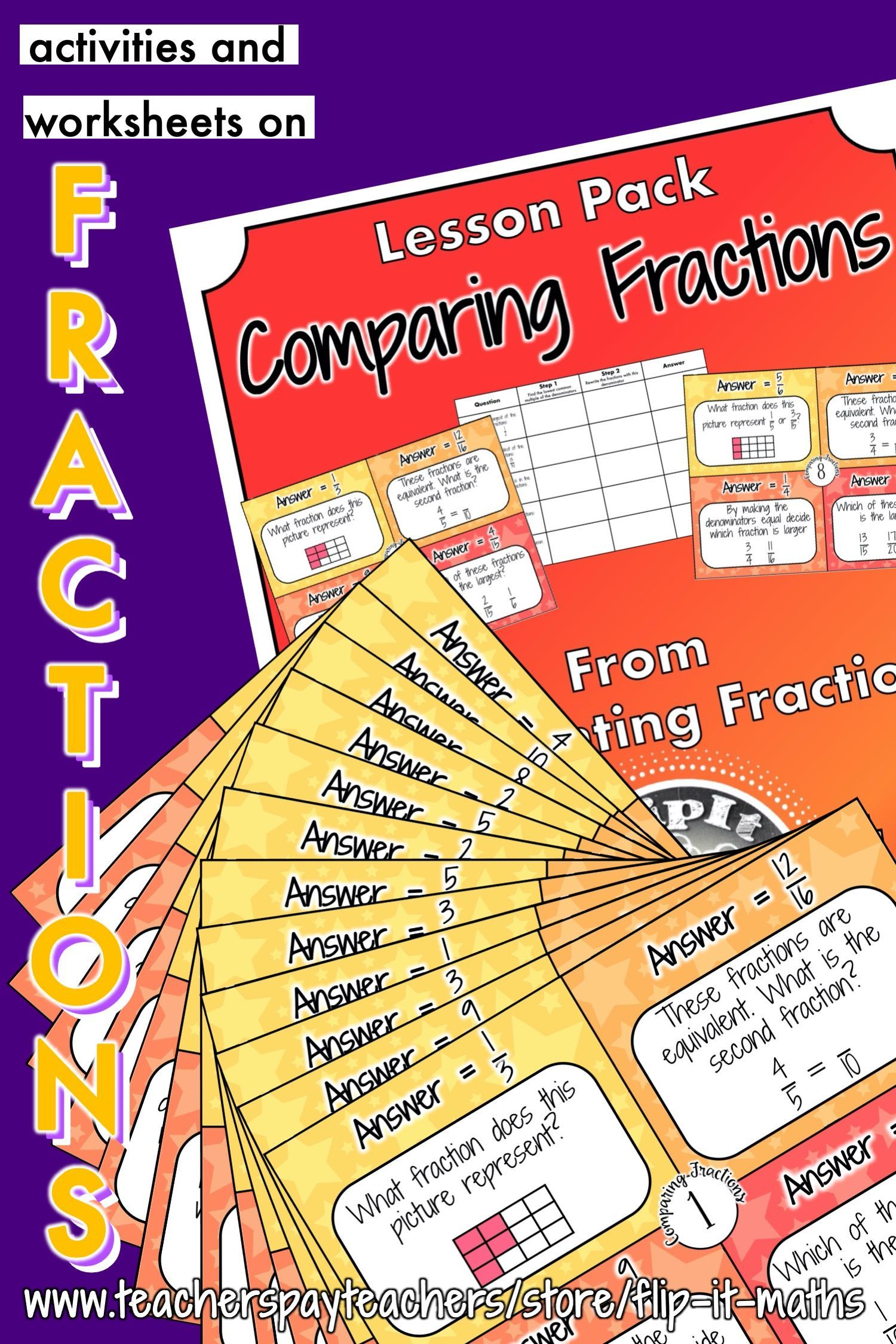 Comparing Fractions In