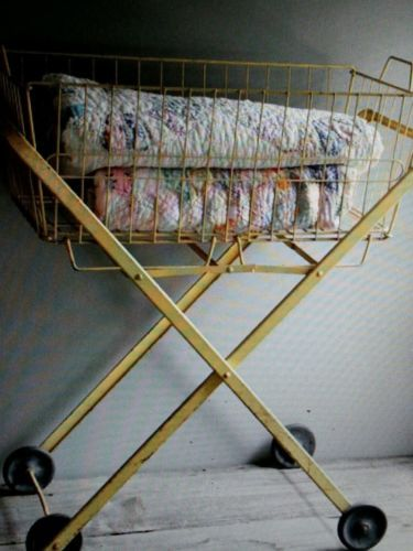 Everyone Could Have Their Own Vintage Laundry Cart In Buttercup