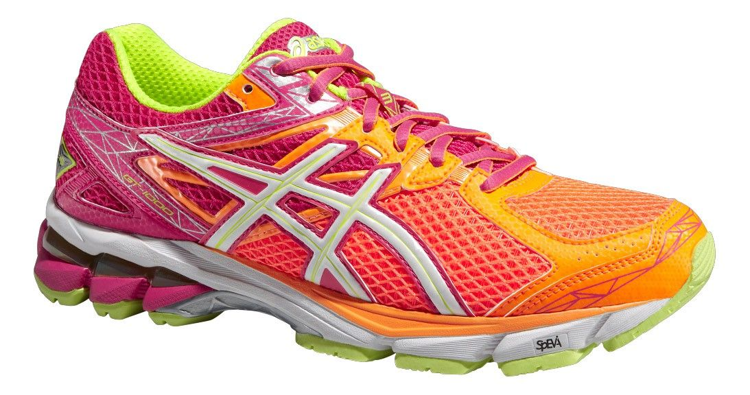 detailed look 7f714 1a109 asics Damen Laufschuh GT- 1000 3 W soft orange / weiss ...