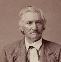 Nicholas Cotter - Huron/Wyandot - 1875