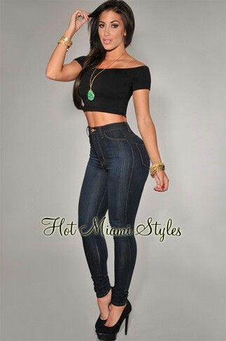 Blue top & jeans outfit   ♔Clothes Envy♚   Pinterest   Sexy ...