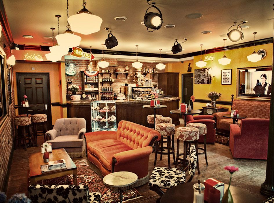 friends central perk coffee shop chairs - Google Search ...