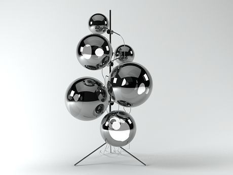 Mirror Ball Stand By Tom Dixon Mirror Ball Tom Dixon Furniture Design Modern