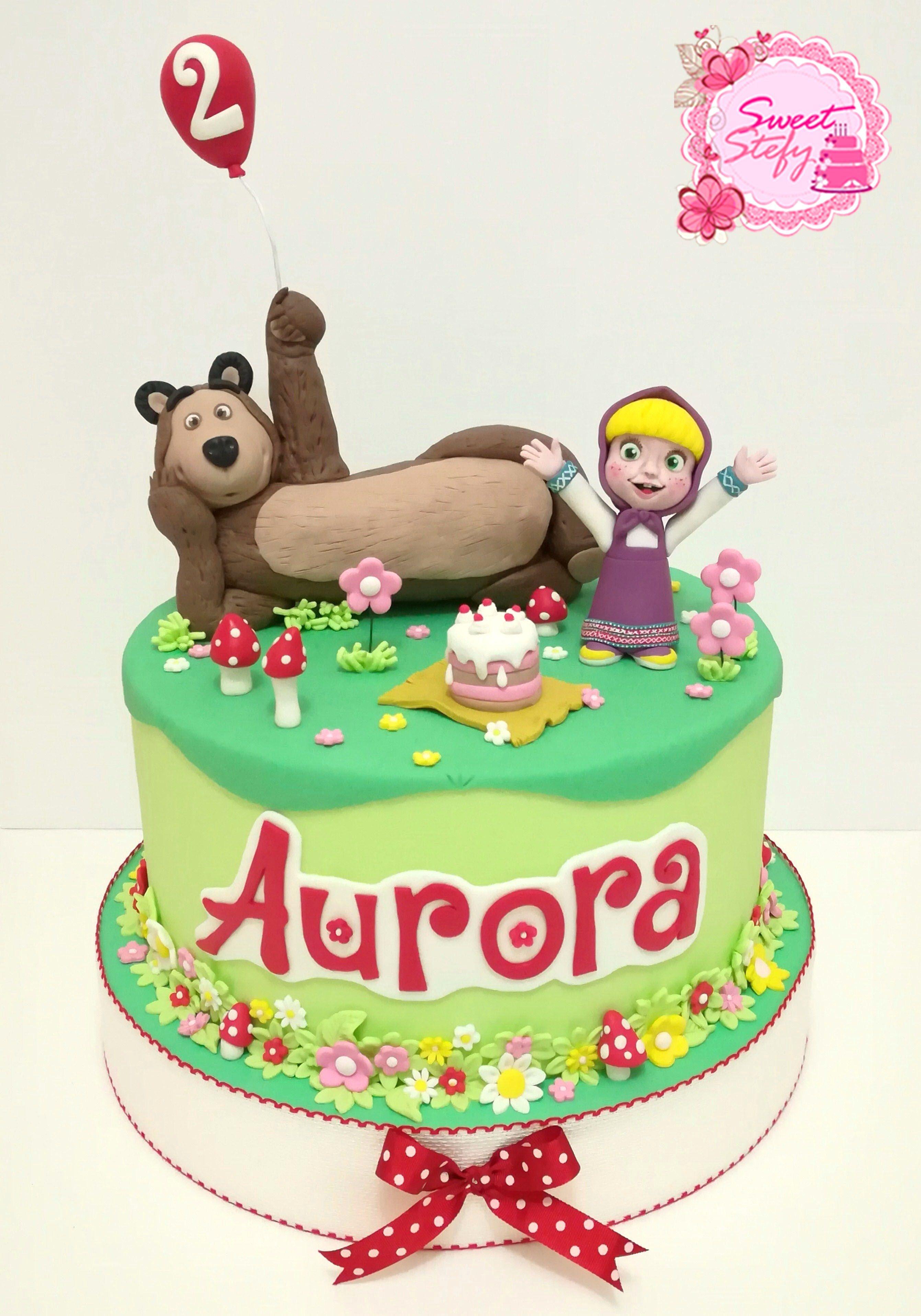 Masha E Orso Masha And The Bear Cake Sweetstefy On Instagram