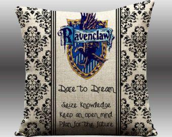 Handmade Harry Potter Cushion Ravenclaw House Crest