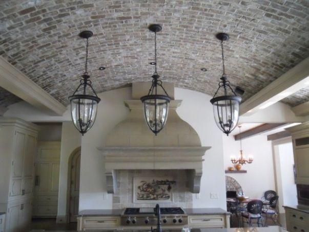 Thin Brick Kitchen Ceiling