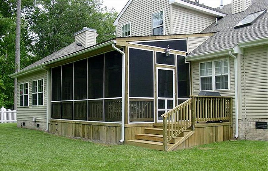 delightful screen porch construction plans #5: Build Modern And Luxury Screen Porch Construction, screened in porches, screened  porches ~ Home Design