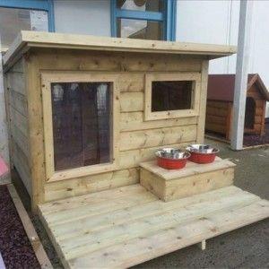 Extra large dog house insulated