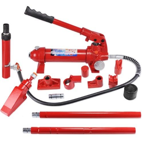 Ad Ebay Link Porta Power 10 Ton Hydraulic Jack Body Frame Repair Kit Auto Shop Tool Heavy Set Auto Body Repair Repair Car Tools