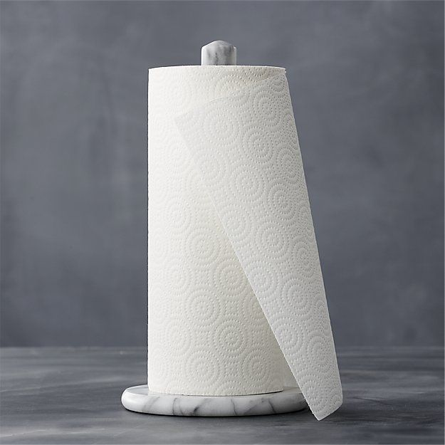French Kitchen Marble Paper Towel Holder