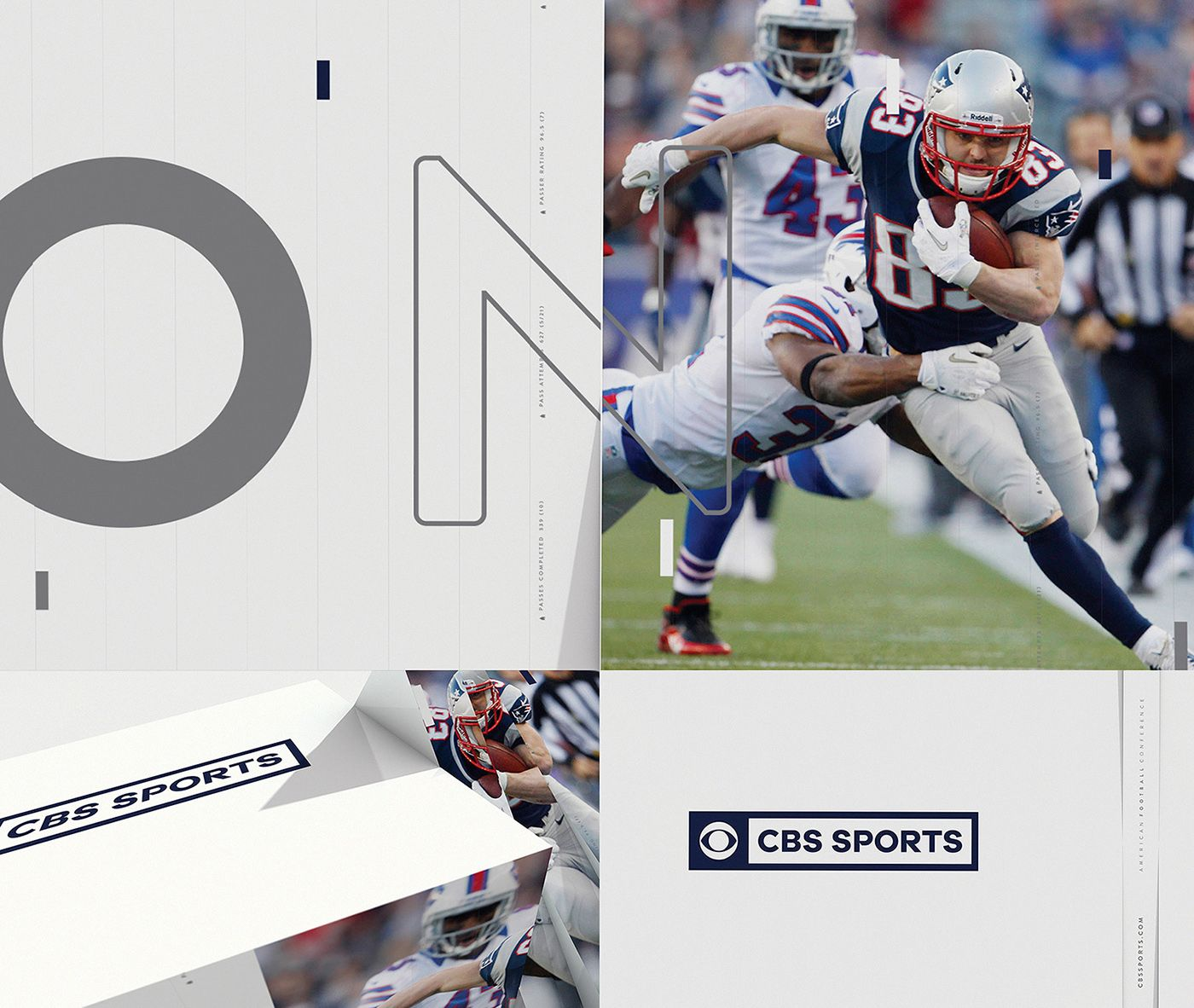 CBS Sports Rebrand on Behance Cbs sports, Sports, Cbs