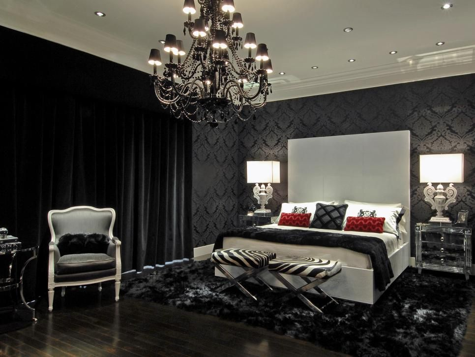 15 black and white bedrooms black wall mirror bedroom black and 15 black and white bedrooms mozeypictures Image collections