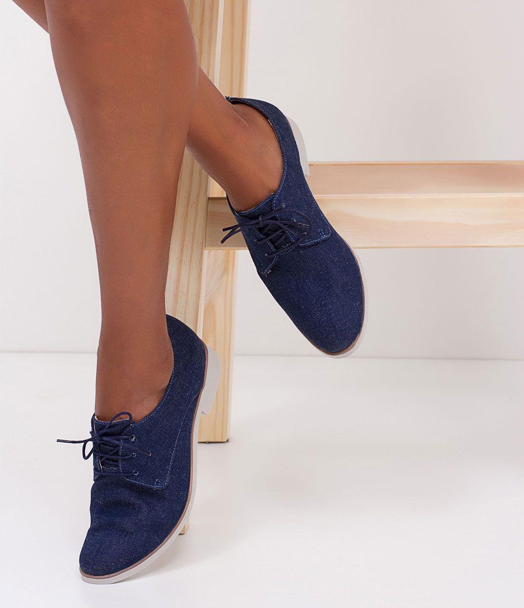 08aba6c1d9 Sapato feminino Material  jeans Oxford Marca  Bottero COLEÇÃO VERÃO 2017  Veja outras opções de